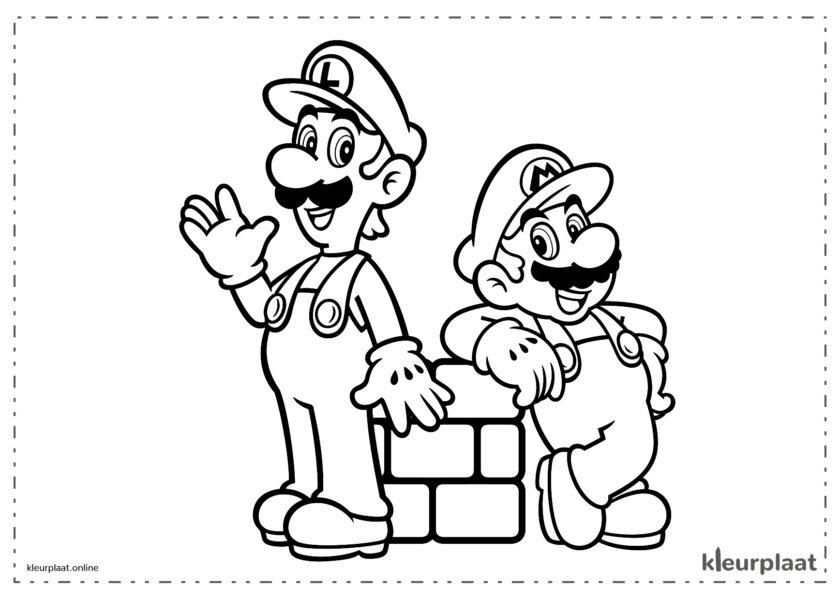 Mario en Luiggi