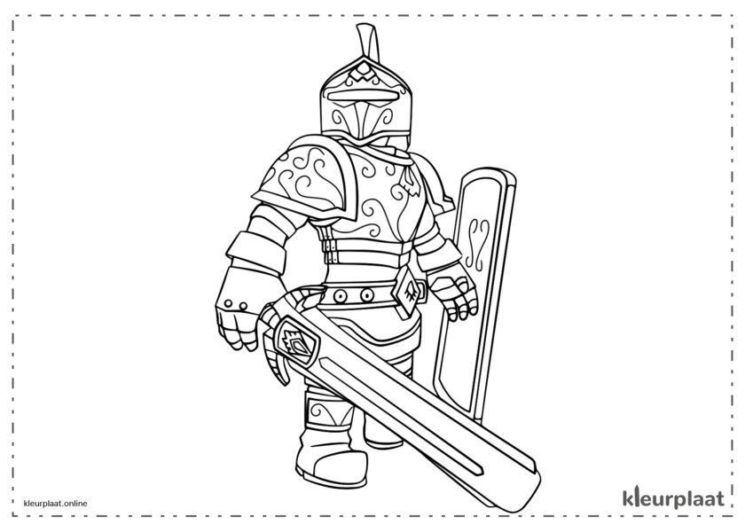 Ridder met zwaarden