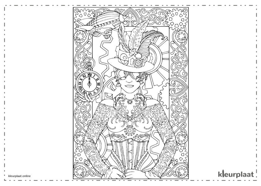 Mandala Time Woman Kostuum
