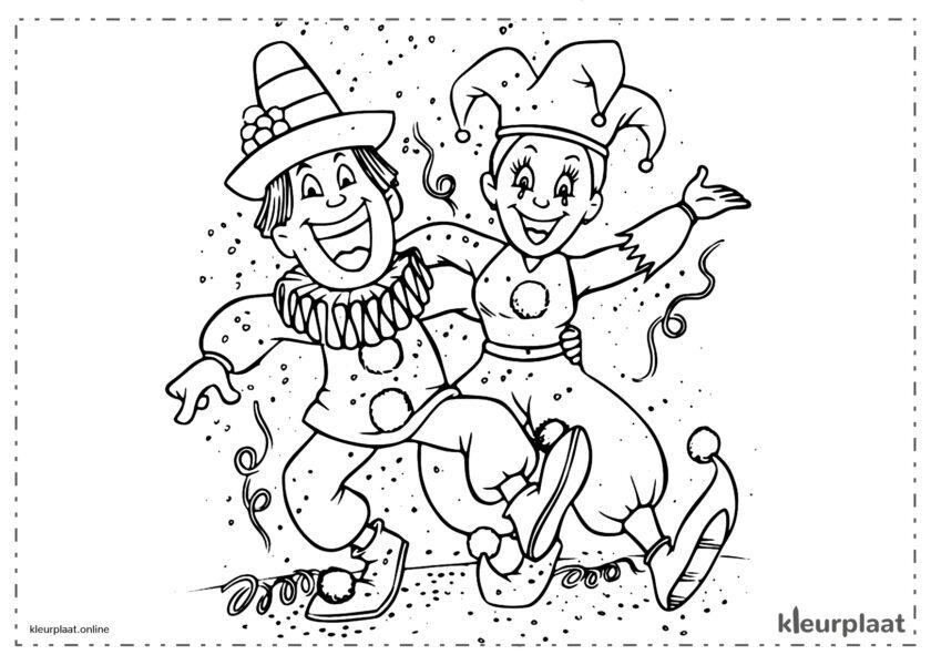 Vreugde in carnavalsjurken