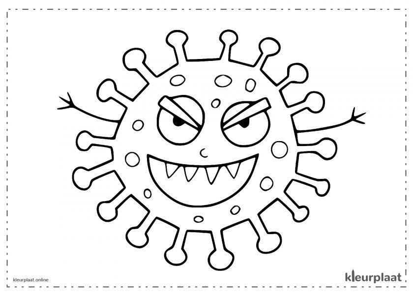 Virus erg slecht gezondheid