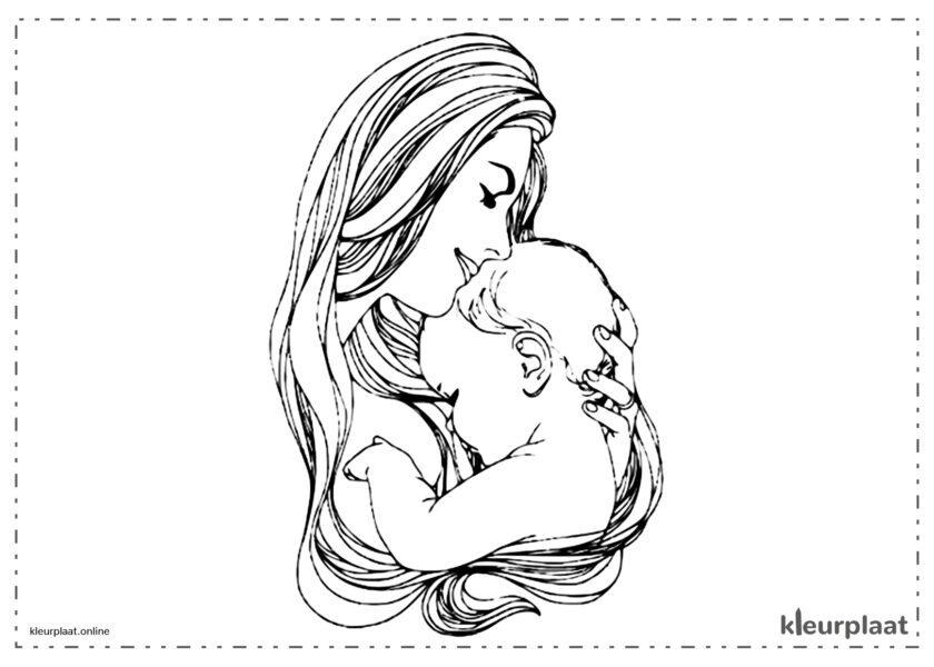 De beste moeder van de wereld op Moederdag dank je wel moeder