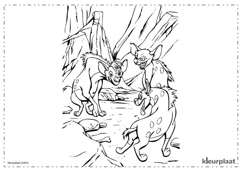 De hyenas van de leeuwenkoning 2: Shenzi, Banzai en Ed