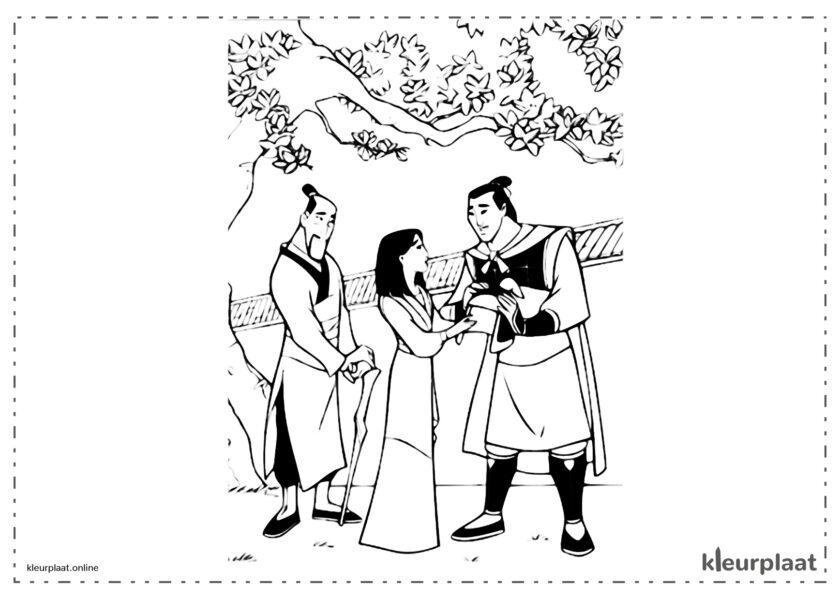 Mulan en Li Shang