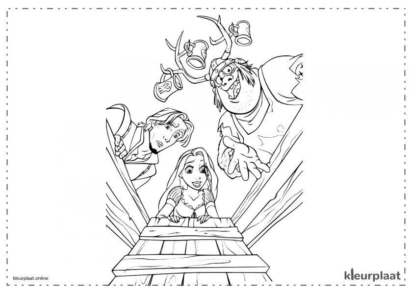 Rapunzel, Flynn Rider en Vlad