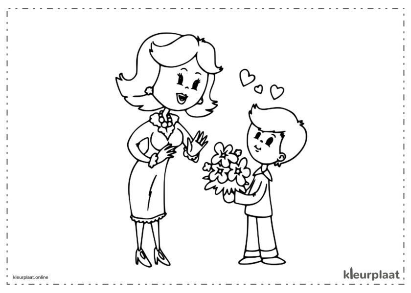 Een boeket bloemen is het beste Moederdag cadeau