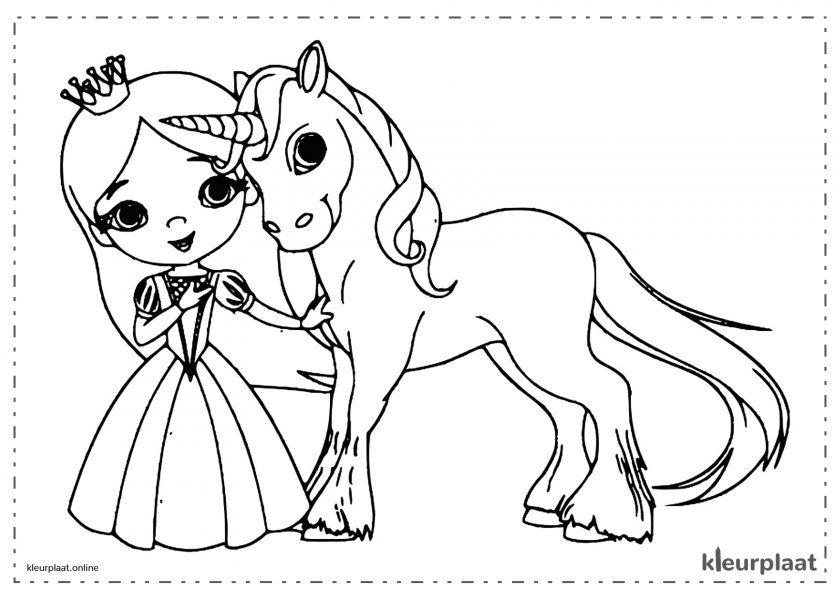 Eenhoorn met Prinses