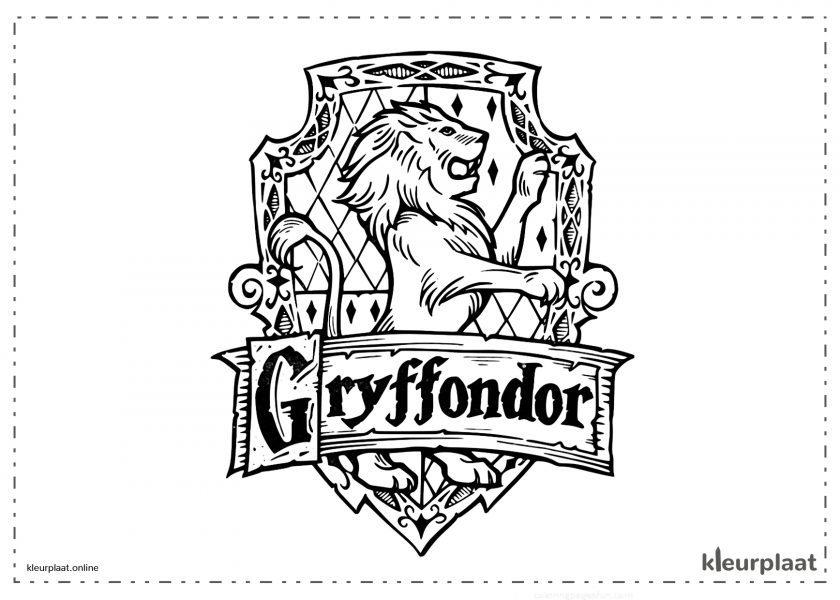 Gryffondor familiewapen leuw
