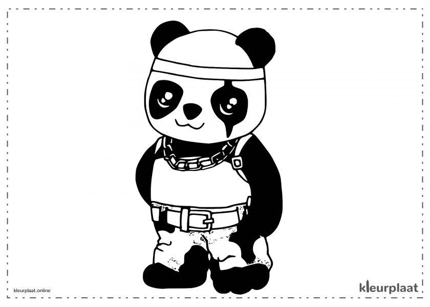 Pandabeer van free fire kawaii