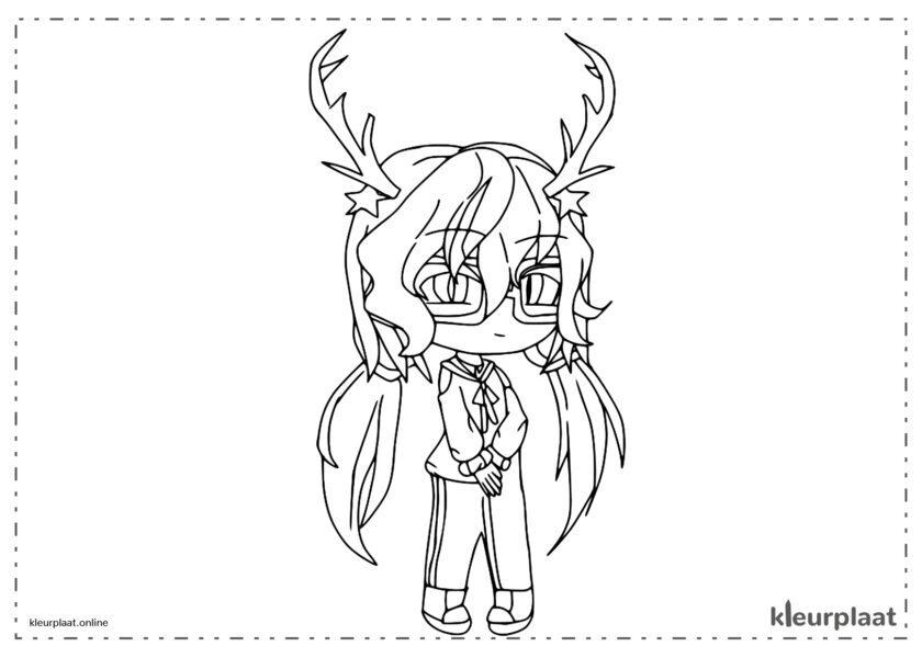 Alexa met hoorns, herten en brillen