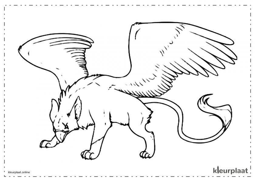 Griffioen mythisch Wezen