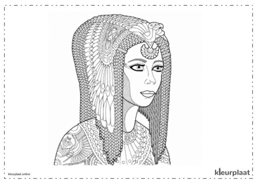 Cleopatra, de koningin van Egypte