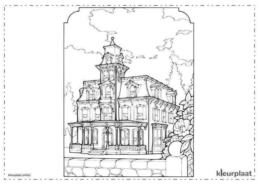 Oud victoriaans huis