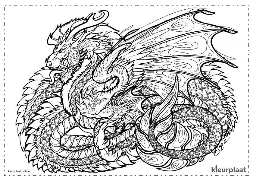 Mandala Draak