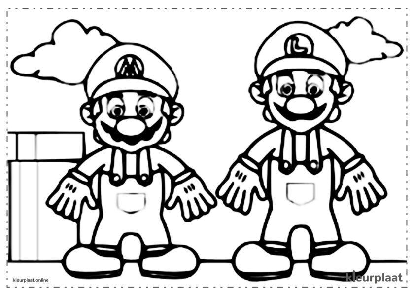 Mario en Luiggi Bros