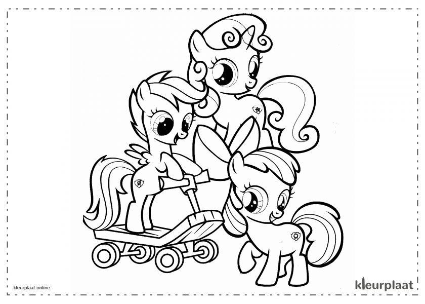 My little pony eenhoornbaby's en kinderen