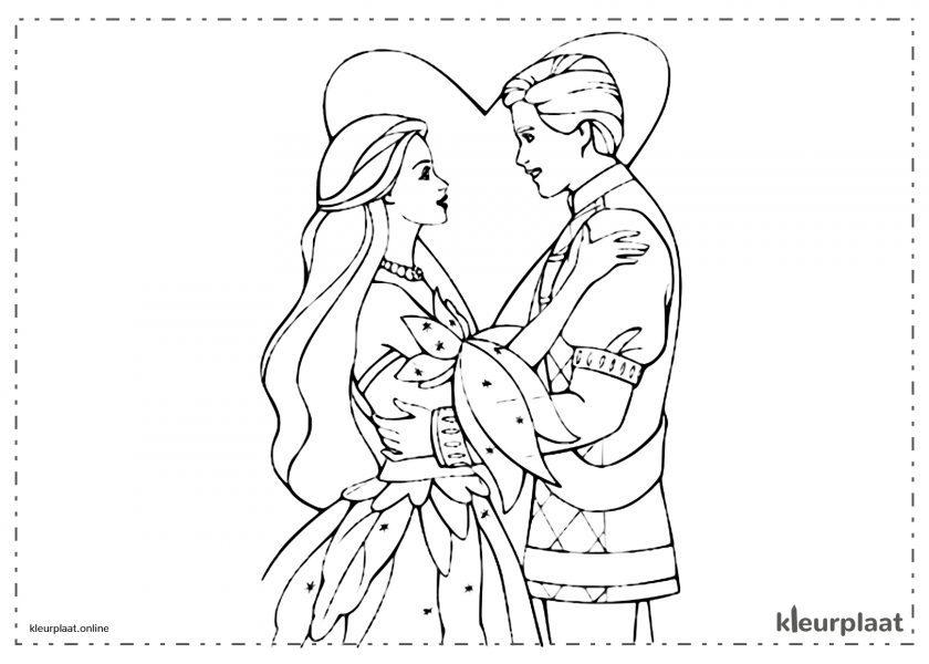 Prinses verliefd op de Prins