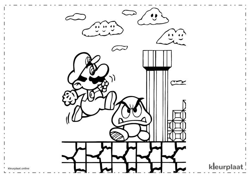 Super Mario Bros 1 Buizen