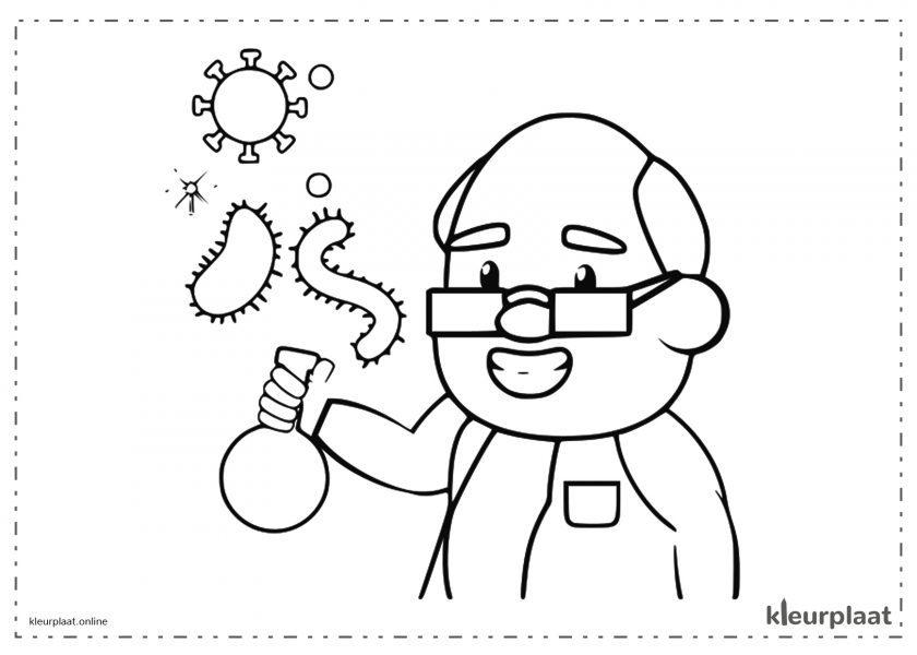 Wetenschapper vaccin virus