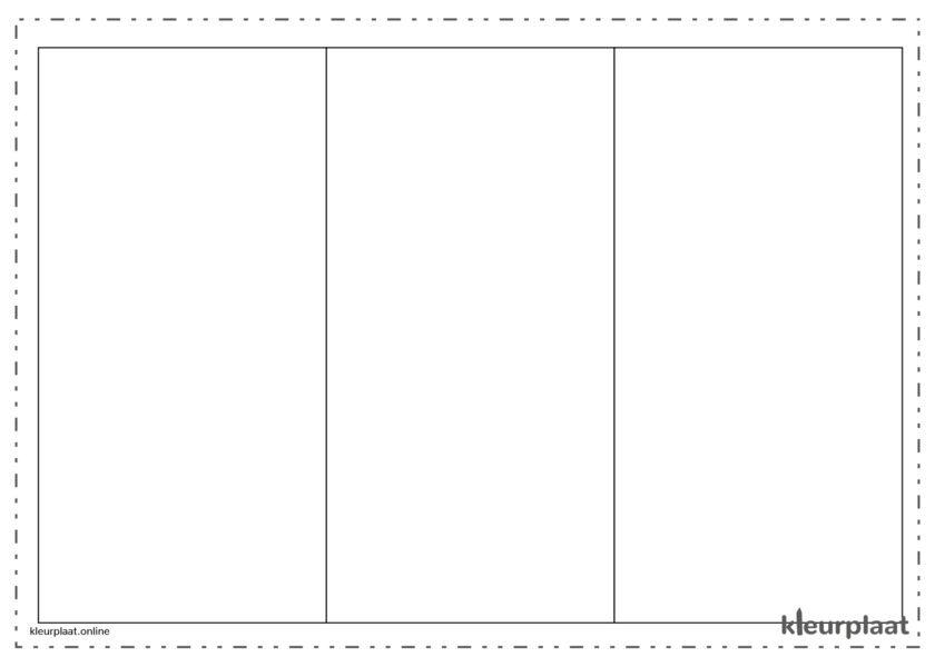 Kleurplaat vlag Romenia